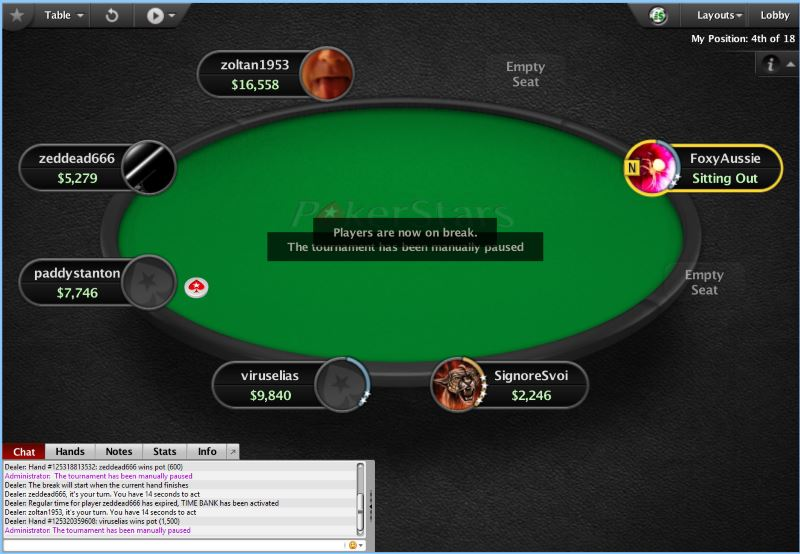 Pokerstars id names